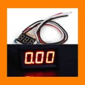 LED Ampermetr 3LCD 4-30V