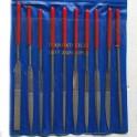 Přesné jehlové pilníky 10ks